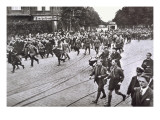 Nazi Youth, Party Members, Sympathisers and War Veterans Gather on Martyr's Day, Berlin Giclee Print by  German photographer