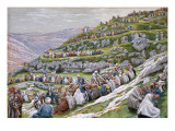 The Miracle of the Loaves and Fishes, Illustration for 'The Life of Christ', C.1886-94 Giclee Print by James Tissot