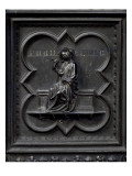 Prudence, Panel H of the South Doors of the Baptistery of San Giovanni, 1336 Giclee Print by Andrea Pisano