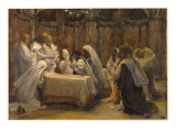 The Communion of the Apostles, Illustration for 'The Life of Christ', C.1884-96 Giclee Print by James Jacques Joseph Tissot