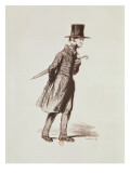 The Employee, from 'Les Francais Peints Par Eux-Memes', Engraved by Guillaumot, Paris, C.1850 Giclee Print by Paul Gavarni