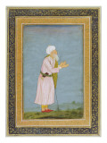 A Muslim Religious Figure, from the Small Clive Album Giclee Print by  Mughal School
