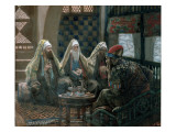 The Wise Men and Herod, Illustration for 'The Life of Christ', C.1886-94 Giclee Print by James Jacques Joseph Tissot