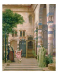 Old Damascus, Jewish Quarter or Gathering Lemons, C.1873-74 Gicleetryck av Frederick Leighton