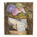In the Hut There Was Only a Bed, the Sunbeam Stole in to Kiss Him' Giclee Print by Eleanor Vere Boyle