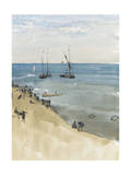 Green and Silver - the Bright Sea, Dieppe, C.1883-85 Giclee Print by James Abbott McNeill Whistler