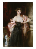 Portrait of Lady Helen Vincent, Viscountess D'Abernon, 1904 Giclee Print by John Singer Sargent