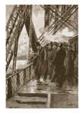 Opening of the Forth Bridge by the Prince of Wales, 4th March, 1890 Giclee Print by Joseph Werner