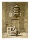 An Imam Reading the Koran in the Mosque of the Sultan, Morocco, 1817 Premium Giclee Print by Maurice Keating