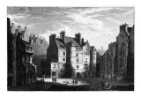 Old Tolbooth Edinburgh, Engraved by Edward Finden Giclee Print by Alexander Nasmyth