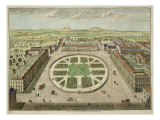 Grosvenor Square, for 'stow's Survey of London', Pub. 1754 Giclee Print by  English School