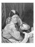 Thomas Killigrew, Engraved by J.J Van Den Bergh Giclee Print by S. Harding