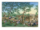 Outing to the Antipolo Fiesta, from 'The Febus Album of Views in and around Manila', C.1845 Giclee Print by Jose Honorato Lozano