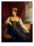 Portrait of Princess Charlotte Augusta of Wales Giclee Print by George Dawe