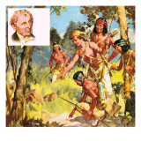 They Lived their Books: the Palefaced Redskin Giclee Print by McConnell