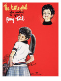 The Little Girl Who Wanted to Grow a Pony Tail Giclee Print by Jesus Blasco
