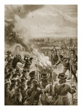 The Burning of Blount's Pamphlet by the Hangman, 1693 Giclee Print by Henry Payne