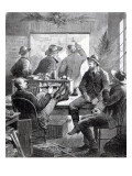 A Kansas Land Office, from 'Harper's Weekly', 11th July 1874 Giclee Print by  American School