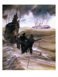 They Sailed the Seven Seas: the P and O Story -- Sutherland's Empire Giclee Print by Neville Dear