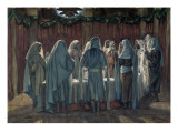 The Jew's Passover, Illustration for 'The Life of Christ', C.1884-96 Giclee Print by James Jacques Joseph Tissot