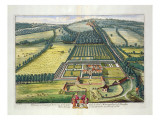 Wytham in the County of Berkshire Engraved by Johannes Kip Giclee Print by Leonard Knyff
