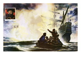 Ferdinand Magellan and the Discovery of the Pacific Ocean Giclee Print by Oliver Frey