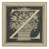 Capital Letter Z, Illustration from &#39;The Life of Our Lord Jesus Christ&#39; Giclee Print by James Jacques Joseph Tissot