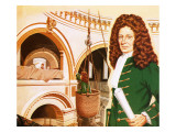 Sir Christopher Wren Inspecting Work in Progress at St Paul's Cathedral Giclee Print by John Keay