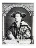 Hans Holbein the Younger, Engraved by Bartholomaus Huebner, 1790 Giclee Print by Hans Holbein the Younger