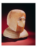 Head of a Woman, Believed to Be Princess Kiya, New Kingdom Reproduction procédé giclée par Egyptian 18th Dynasty
