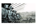 The White Company, the Mercenary Army of Sir John Hawkwood Giclee Print by Graham Coton