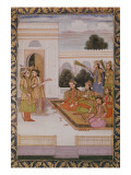 Joseph Presented to the Wives of Mizr by Zuleika, Potiphar's Wife, Episode Giclee Print by  Mughal School