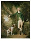 Portrait of John Cockburn Ross of Rochester and Shadwick Giclee Print by Alexander Nasmyth