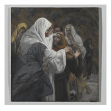 Address to Saint Philip, Illustration from 'The Life of Our Lord Jesus Christ', 1886-94 Giclee Print by James Tissot