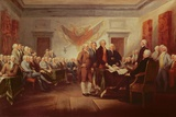 Signing the Declaration of Independence, 4th July 1776, C.1817 Giclee Print by John Trumbull