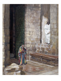 And Jesus Was Left Alone and There Was a Woman in the Midst Giclee Print by James Jacques Joseph Tissot