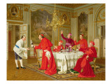 Louis Xiv's Apartments at Versailles, the Chef's Birthday Giclee Print by Andrea Landini