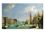 View of Grand Canal, Venice from the Church of Santa Maria Della Carita to the Bacino Giclee Print by William James