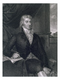 Robert R. Livingston, Engraved by E. Mackenzie Giclee Print by John Vanderlyn