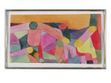 (Untitled) Colour Composition, C.1914 (W/C and Pencil on Paper) Giclée-Druck von Paul Klee