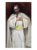 Our Lord Jesus Christ, Illustration for 'The Life of Christ', C.1886-94 Premium Giclee Print by James Tissot