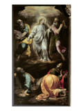 The Transfiguration of Christ from the Organ, Completed 1559-1602 Giclée-tryk af  Italian School