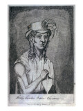 Friday Fletcher October Christian, Son of Fletcher Christian, 1814 Giclee Print by John Shillibeer