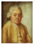 Portrait of Carl Philipp Emanuel Bach, C.1780 Giclee Print by Johann Philipp Bach