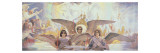 Central Panel from the Threshold of Paradise, 1885-96 Gicl&#233;e-Druck von Victor Mikhailovich Vasnetsov