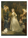 Portrait of Hrh Frederica Charlotte Ulrica, Princess Royal of Prussia and Duchess of York Giclee Print by John Hoppner