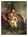 Portrait of Hrh Frederick Augustus, Duke of York in the Uniform of the Colonel Giclee Print by John Hoppner