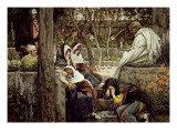 Jesus at Bethany, Illustration for 'The Life of Christ', C.1886-96 Giclee Print by James Jacques Joseph Tissot