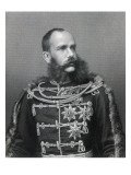 Emperor Franz Joseph I of Austria, Engraved by George J. Stodard Giclee Print by  Austrian Photographer