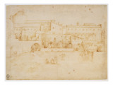 View of the Church and Convent of Santa Croce, Florence Giclee Print by Fra Bartolommeo